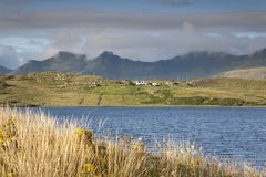 Loch Mealt; Trotternish; Isle of Skye Stock Photography