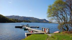 Loch morar Fotos de Stock Royalty Free