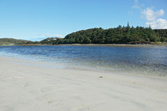 Loch Morar, in the northwest highlands of Scotland. Royalty Free Stock Image
