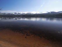 Loch morlich aviemore Schotland 2 Royalty-vrije Stock Afbeelding
