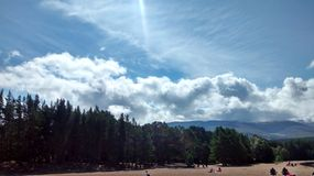 Loch Morlich Royalty Free Stock Photos