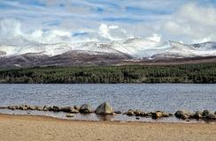 Loch Morlich Stock Photography