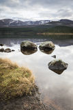 Loch Morlich in the Highlands of Scotland. Royalty Free Stock Image