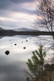 Loch Morlich in the Highlands of Scotland. Stock Photo