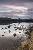 Loch Morlich in the Highlands of Scotland. Stock Images