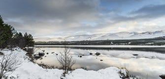 Loch Morlich in the Highlands of Scotland. Stock Photos