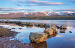Loch Morlich, Scotland Stock Photography