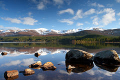 loch morlich scottish Obraz Royalty Free