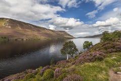 Loch Muick in Aberdeenshire, Scotland. Royalty Free Stock Photos