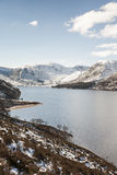 Loch Muick in Aberdeenshire, Scotland. Royalty Free Stock Images
