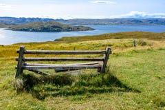 Loch-Mutterschaf und Insel des Mutterschafs in Wester Ross, Schottland Lizenzfreie Stockfotografie