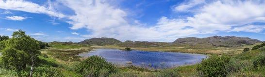 Loch Na Crannaig, Ardnamurchan royalty-vrije stock fotografie