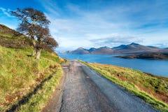 Loch Na Keal op het Eiland van Mull royalty-vrije stock foto's