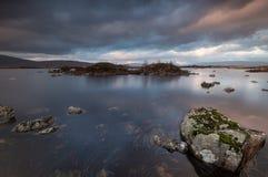 Loch Nah-Achlaise stockbild