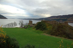 Loch Ness Шотландия стоковое изображение rf