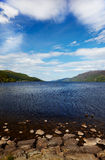 Loch Ness. View at like Loch Ness, Highland, Scotland Stock Images