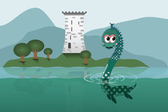 Free Loch Ness Royalty Free Stock Photos - 21744468