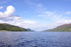 Loch Ness Royaltyfri Fotografi