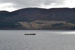 Loch Ness湖 免版税库存照片