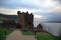 Loch Ness, Ecosse 3 Photo stock