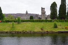 Loch Ness - Fort Augustus - Abbey Stock Image