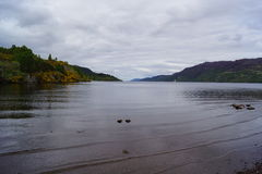 Loch Ness at Fort Augustus Stock Image