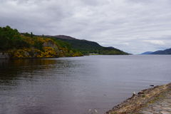 Loch Ness at Fort Augustus Royalty Free Stock Image