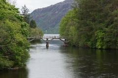 Loch Ness Gateway Bridge - Fort Augustus Stock Image