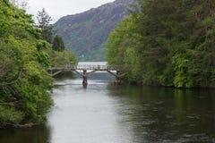 Loch Ness Gateway Bridge - Fort Augustus Royalty Free Stock Photo