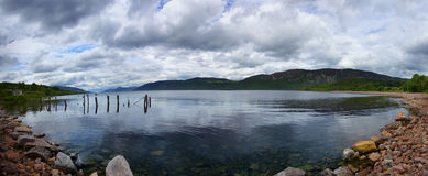 Loch ness. In the highlands of Scotland Stock Photo
