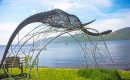 Loch Ness monster? Fotografering för Bildbyråer