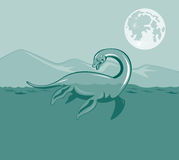 Loch Ness monster Stock Photos