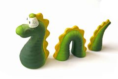 Loch Ness Monster Miniature Royalty Free Stock Photos