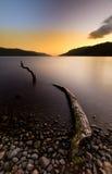 Loch Ness Monster stock image
