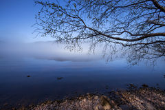 Loch Ness in the morning time, Scotland Stock Photo