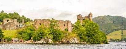 Loch Ness no tempo sombrio, Escócia Fotografia de Stock