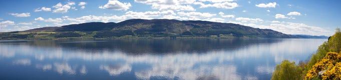 loch ness panorama Obrazy Royalty Free