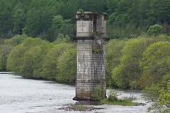 Loch Ness River Tower Stock Photo