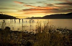 Loch Ness in Schotse Hooglanden stock foto