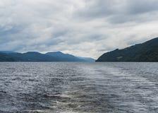 Loch Ness, Schottland stockbilder