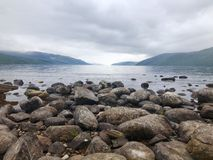 Loch Ness. In Scotland Stock Photography