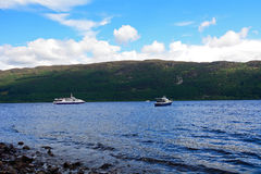 Loch Ness scotland Royaltyfria Foton