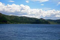 Loch Ness scotland Arkivfoto