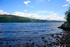 Loch Ness scotland Arkivfoton