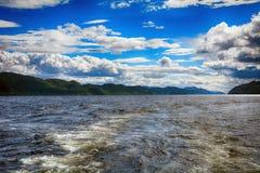 Loch Ness scotland Fotografering för Bildbyråer