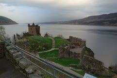 Loch Ness, Scozia 4 Fotografia Stock Libera da Diritti