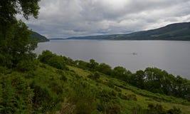 Loch Ness Skottland, Förenade kungariket Arkivbilder