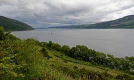 Loch Ness, Szkocja, Zjednoczone Królestwo Zdjęcia Stock
