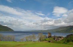 Loch Ness van het meer Royalty-vrije Stock Fotografie