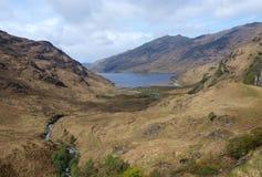 Loch Nieves, Scozia. Immagini Stock